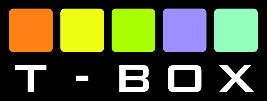 logotipo tbox black background